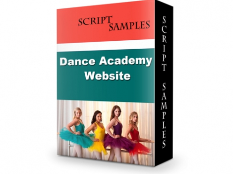 Dance Academy Website