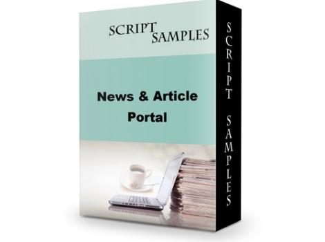 News and Articles Portal