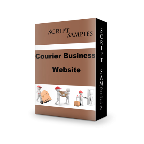 Courier Business Website