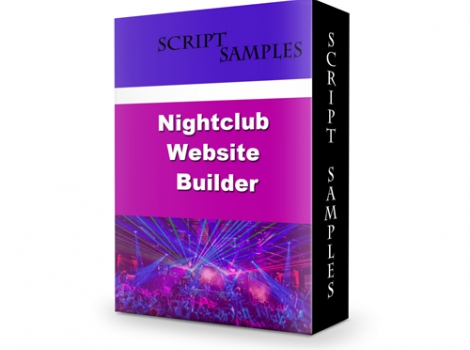 Nightclub Website Builder